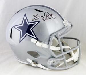 2867fa58095 Sports Mem, Cards & Fan Shop Helmets Tony Dorsett Autographed/Signed Dallas  Cowboys Black Mini Helmet ...