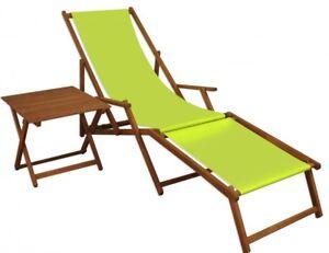 Chaise longue Bois chaise longue Deckchair Transat Transat Jardin Chaise Longue Pistache pied 10-306 NF