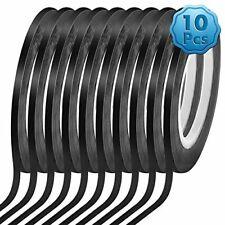 18 10 Pack Black Matte Tape Whiteboard Grid Tape Model Art Tape Chart Tape