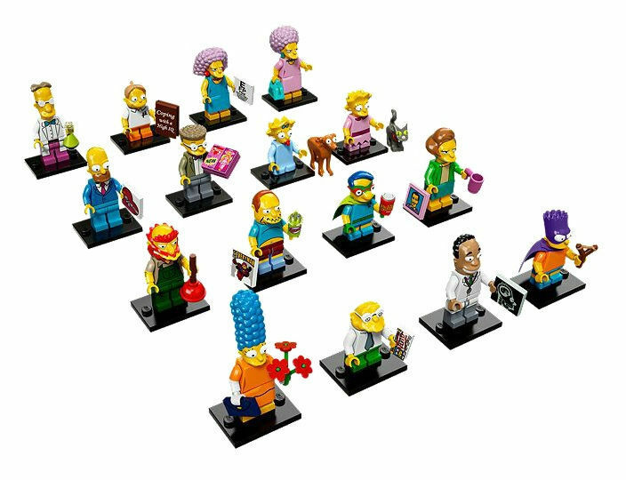 LEGO The Simpsons Minifigures Series 2 Complete Set