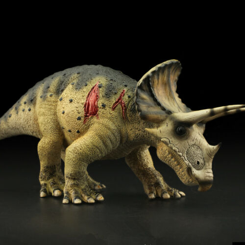Triceratops Ceratops Figure Dinosaur Lifelike Animal Model Toy Collector Decor