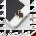 Cute 3D Home Button Sticker For iPhone 4/ 4S iPhone 5 iPad 1/2 iPhone 6