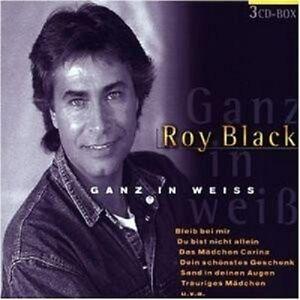 roy black ganz in weiss 3 cd neu ebay. Black Bedroom Furniture Sets. Home Design Ideas