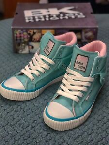 Brand-New-Boxed-British-Knights-Hi-Top-Trainers-Size-2-Perfect-Xmas-Present