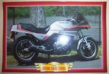 SUZUKI XN85 TURBO XN 85 VINTAGE CLASSIC MOTORCYCLE BIKE 1980'S PICTURE 1983