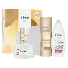 3 for 2 Dove Glow & Gradual Tan Gift & For Women & Mums, Collection Set&BodyMitt