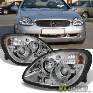 1998-2004 Mercedes Benz R170 SLK230 SLK200 SLK320 LED Halo ...