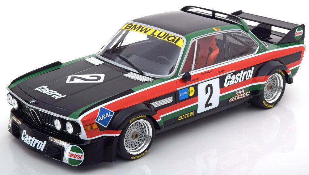 Bmw 3.0 csl luigi minichamps 1976 - gewinner - nürburgring   2 18  neue