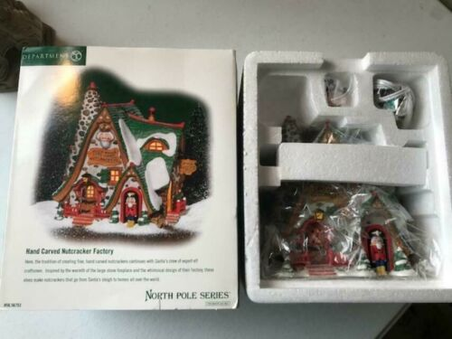 Department 56 Hand Carved Nutcracker Factory #56.56753