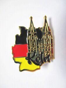 Koeln-Dom-Cologne-Pin-Anstecker-Germany-mit-Druckverschluss