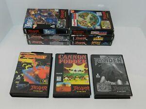 Atari-Jaguar-Games-Complete-Boxed-Fun-You-Pick-amp-Choose-Video-Games-Tested