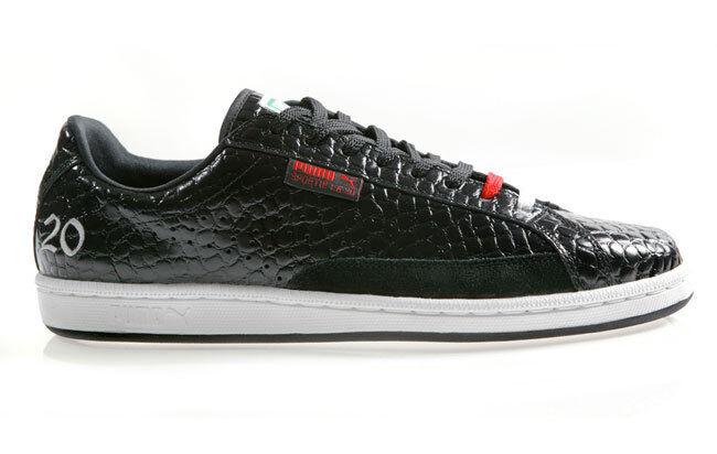 PUMA SPORTIE LA MATCH LOW CROCODILE SKIN Homme Chaussures Noir 343403-01 Taille  NEW