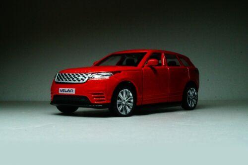 Range Rover Velar 2017 Red SUV Scale 1:42-1:43 MSZ Diecast model car