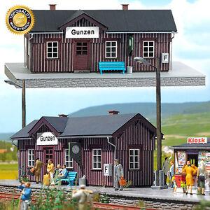 BUSCH-1462-Scala-H0-Stazione-Gunzen-nuovo-in-confezione-originale