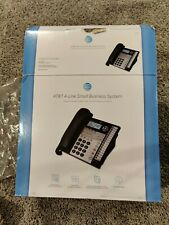 Atampt 4 Line Small Business Phone System 1070 Compatible With 1040 1080 New