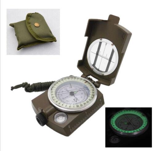 Kompass Marschkompass Militär Metall Peil Flüssigkeit compass Multifunktion