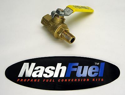 "NEW 1//2/"" NPT BALL VALVE LOCKOFF LOCK OFF PROPANE OR NATURAL GAS 1//2 600 PSIG LPG"