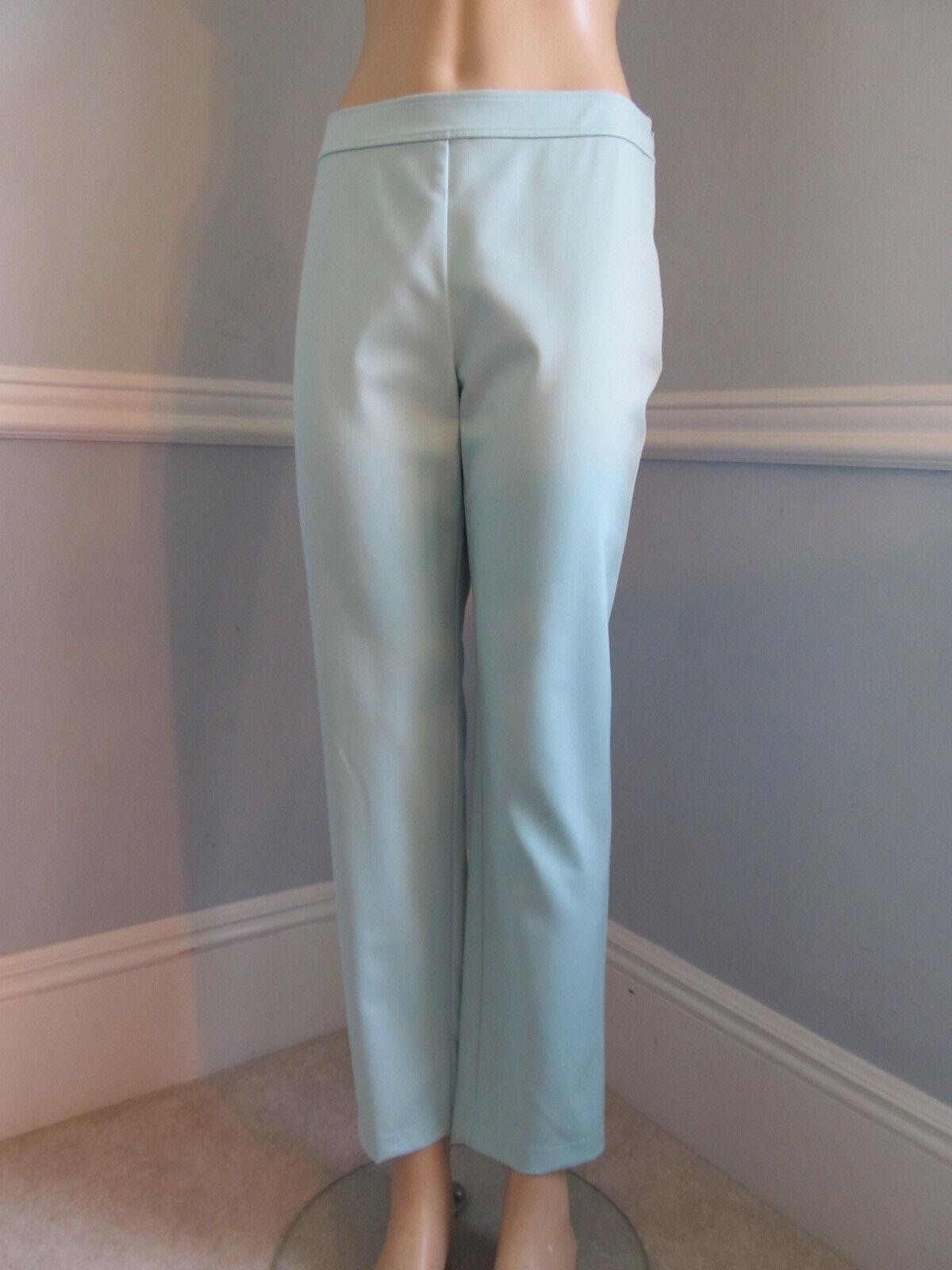 Nuevo con etiquetas ST JOHN Pantalones Talla 8  Menta verde De Lana  compras en linea