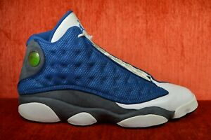 detailed look b422c b34a1 Details about CLEAN 2010 Nike Air Jordan 13 414571-401 Size 12 French Blue  Flint Grey