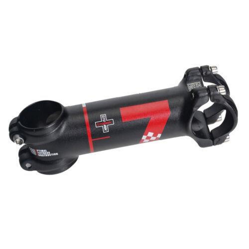 31.8 Bike Stem 60mm 70mm 7 Degree Light Weight Bicycle Handlebar Riser Black