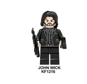 JOHN WICK RARE custom LeGo Minifigures HERO TOY MARVEL IRON MAN 250297