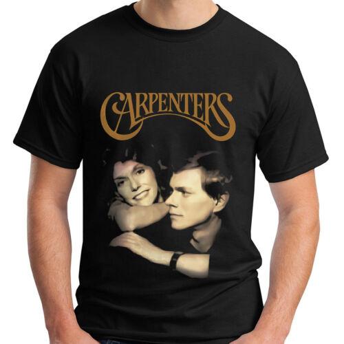 Nouveau les charpentiers 70 S Classic Pop Duo Karen Richard T-Shirt Noir Taille S-5XL