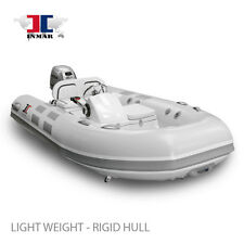 "10'6"" Yacht Series RHIB Inflatable Boat - Honda 20 Hp - Dingy Sailing Yacht NEW"