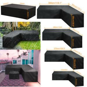 Waterproof Garden Rattan Corner Furniture Cover Outdoor ...