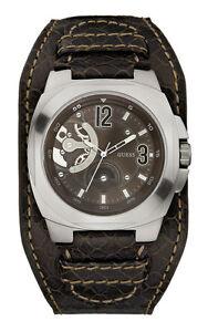 GUESS-w12601g2-phandemonium-Reloj-De-Hombre-Correa-Cuero-Marron