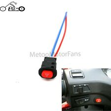 Motorcycle Emergency Hazard Warning Fog Flash Light Switch Push Button ON/OFF