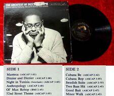 LP Dizzy Gillespie The Greatest of Dizzy 1961