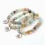 miniature 23 - Crystal Gemstone Bead Bracelet Chakra Natural Stone Reiki Healing Anxiety Stress