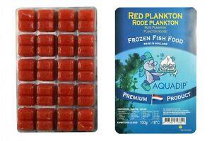 18 X Red Plankton 100 Gram Blister Packs Premium Frozen Fish