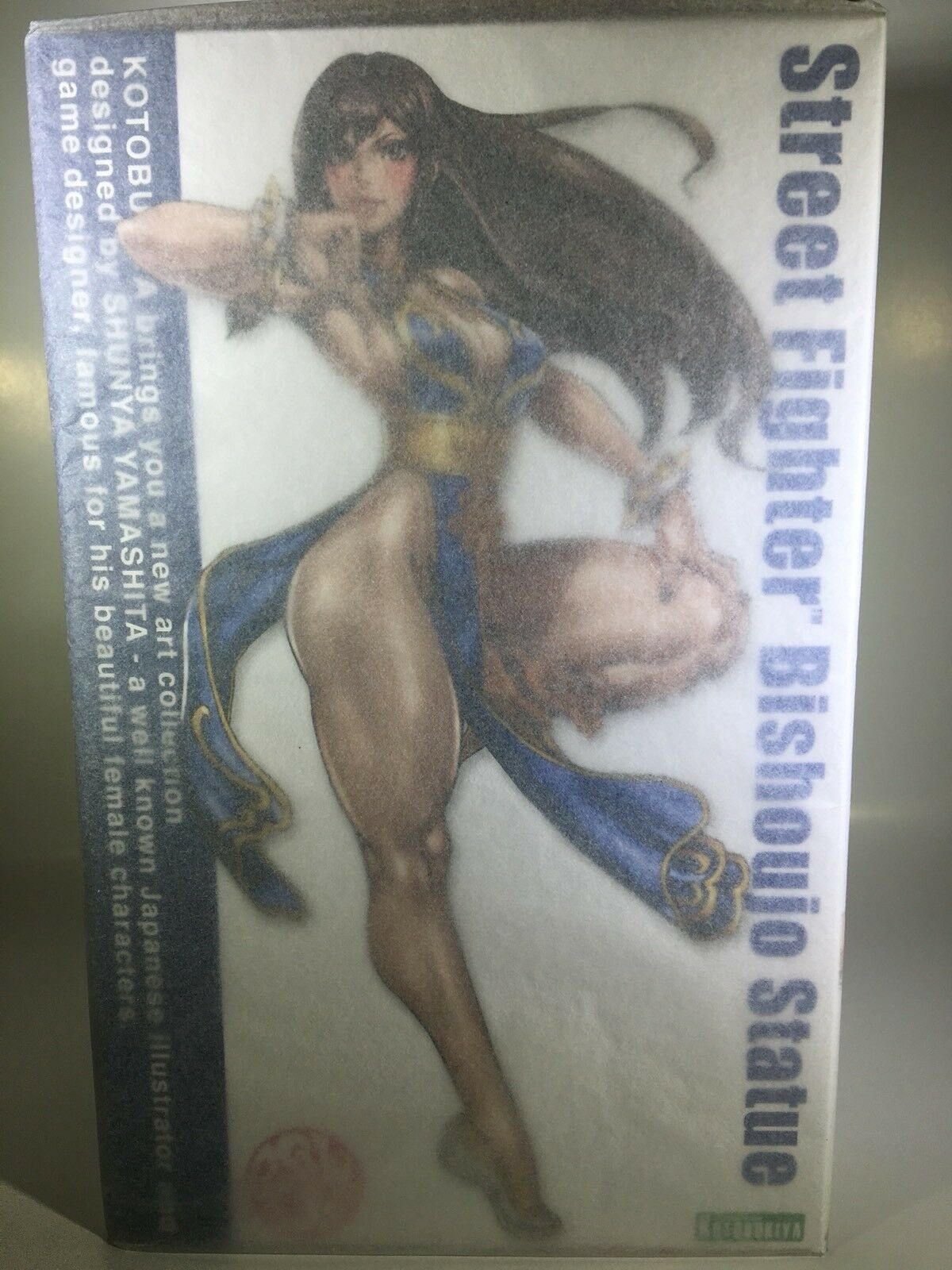 Kotobukiya Street Fighter Chun-Li NYCC 2018 Exclusive Blau Chun Li