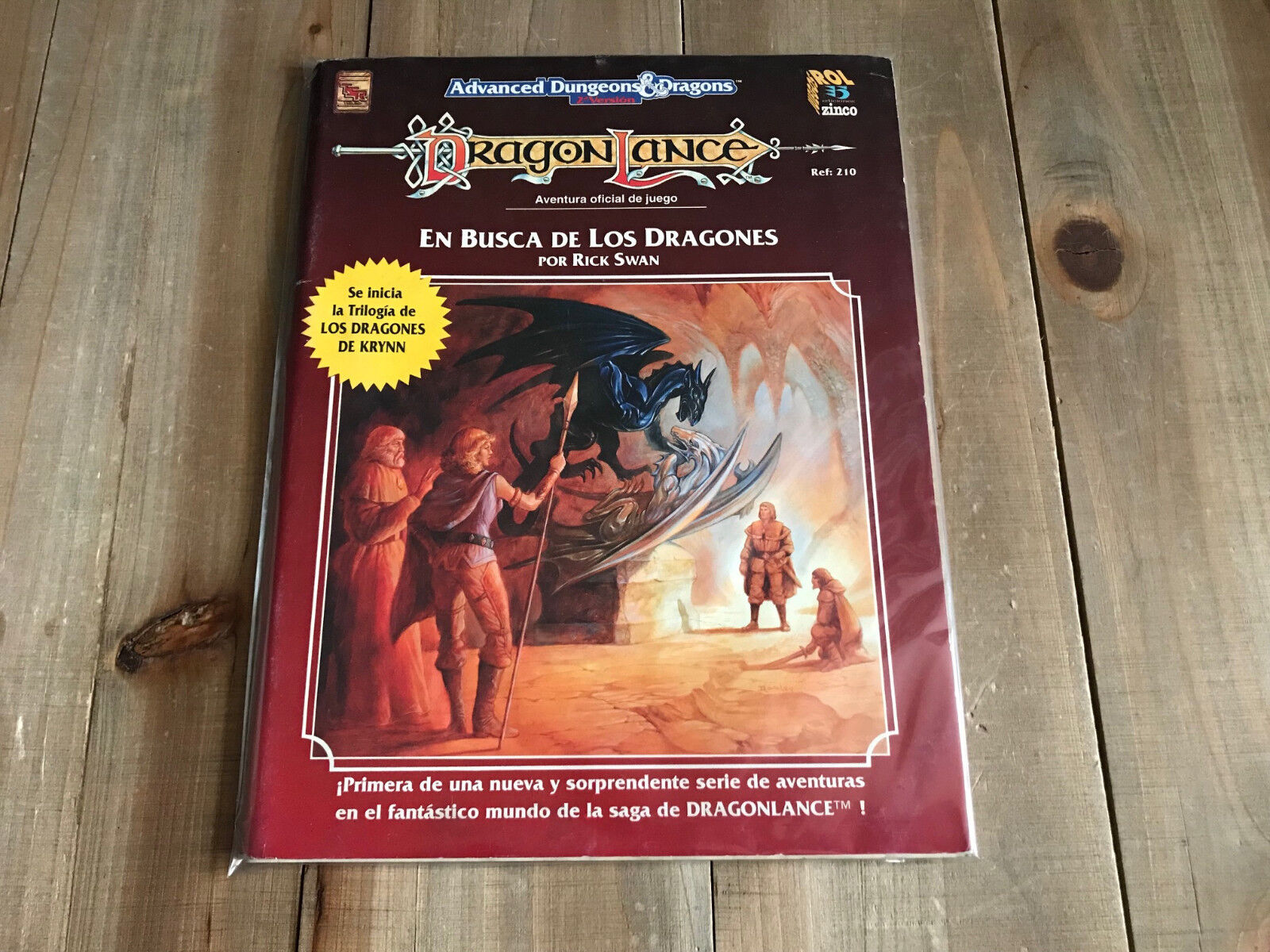 Advanced Dungeons & Dragons Dragonlance - in Search of the - Role Play Zinco