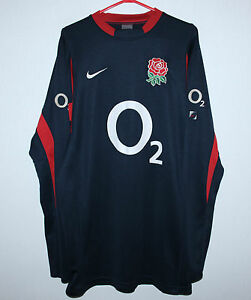 England-national-rugby-union-team-shirt-jersey-jumper-Nike-Size-XL-Long-Sleeves