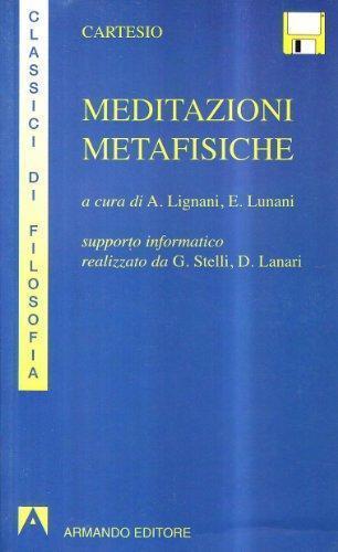 Meditazioni metafisiche Con floppy disk, CARTESIO, ARMANDO EDITORE 9788871446004
