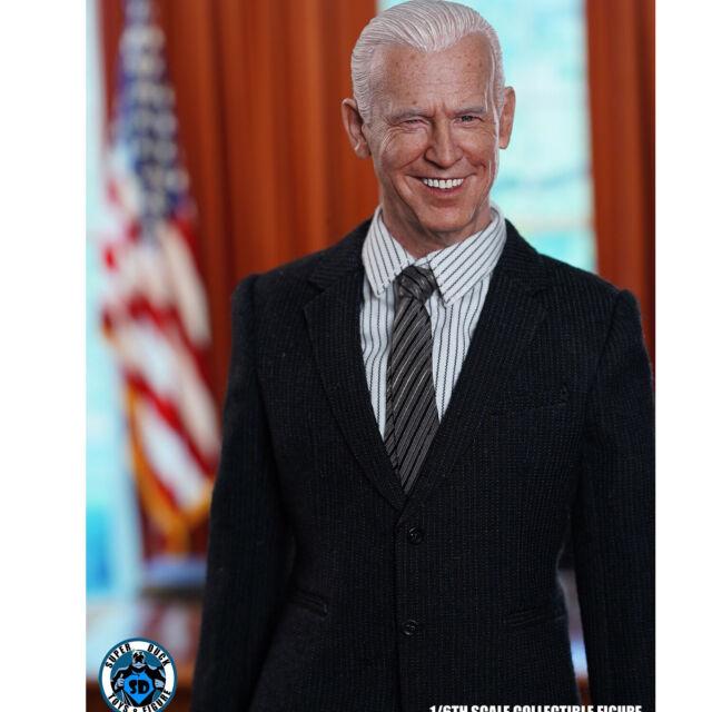 Super Duck SDH026 1//6 US President Chief Executive Jill Biden Figure Head for sale online