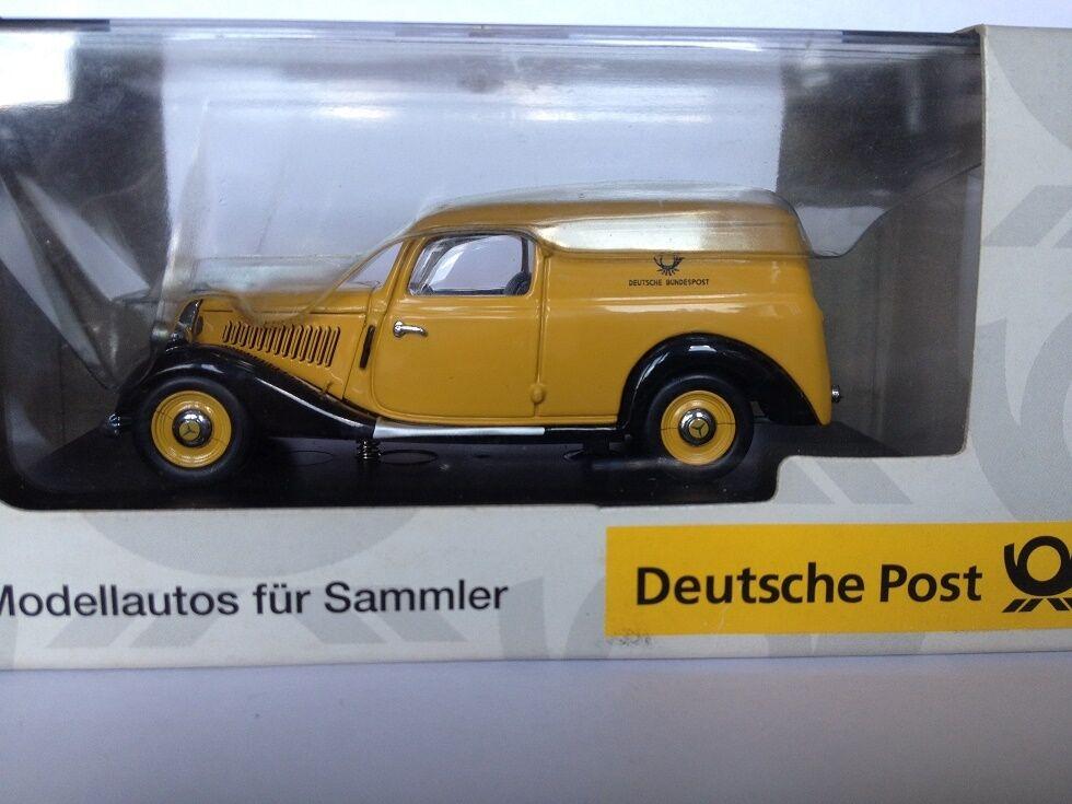 1 43 Schuco Mercedes 170V Bundespost 2322