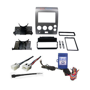 radio dash mounting kit w harness antenna steering wheel for nissan ebay