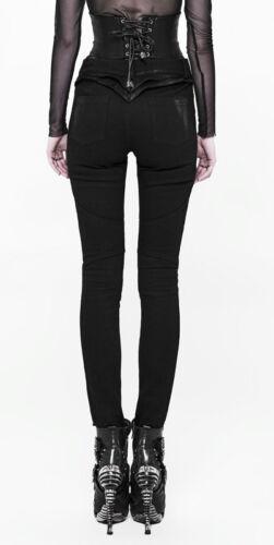 Clouté Armure Punkrave Guerrière Gothique Noir Jeans Pantalon Volants Steampunk U5Sq6Rw