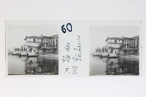 Isola Dei Pescatori Lac Maggiore Italia Foto Stereo T2L9n32 Placca Lente Vintage