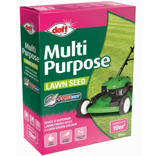 Doff Multi Purpose Lawn Seed with Procoat 250g//500g//1kg T/&M