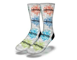 Neuf-Adulte-Junior-Savvy-Sox-X-Art-Society-X-Sly-Ski-Signature-Chausettes