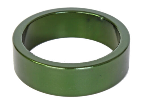 """Shim Anodized bike scooter xc dh bmx mtb GREEN Headset Spacer 10mm x 1 1//8/"""" NEW"""