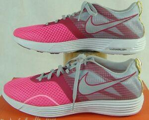 af4b26d074d0 New Womens 9 NIKE Lunar MTRL Montreal Pink Running Shoes  90 522346 ...