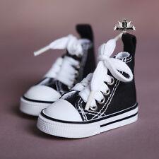1/4 BJD Shoes Boots MSD Supper Dollfie DOD LUTS SOOM EID AOD Shoes Black Sneaker