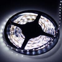5M 3528 SMD White 300 Led Strip Light Nonwaterproof Car 12V Lamp Tape 16.4ft