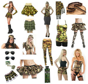 Army Party Dress