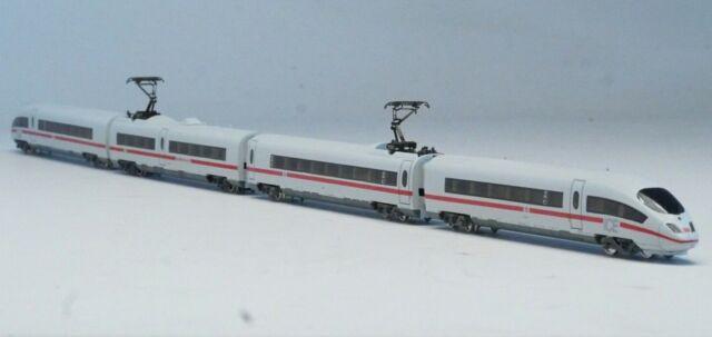 88712 Märklin Marklin Z-scale  ICE 3 Railcar Train Set , lighted cars